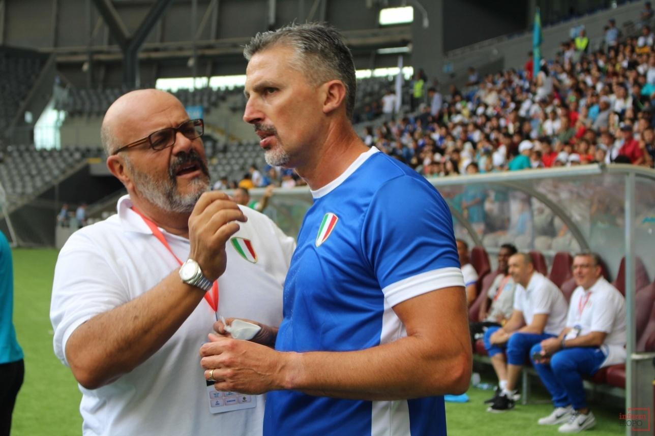 Итальянец Дино Баджо получил несколько травм во время турнира