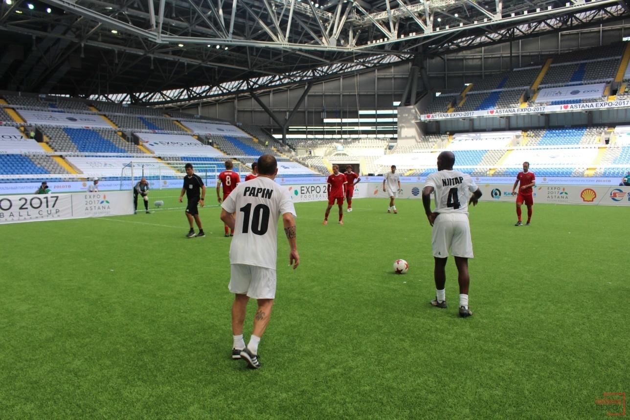 Финальный матч стал украшением всего турнира и завершился победой российских ветеранов футбола