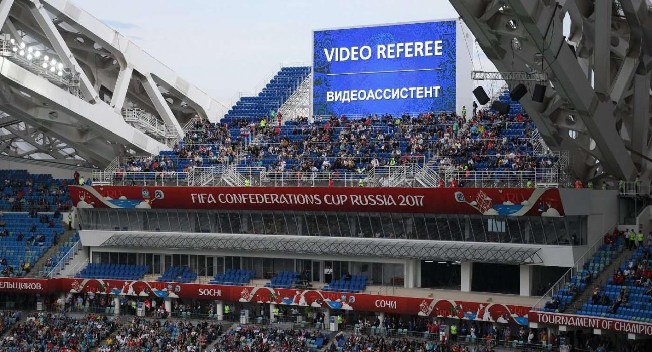 Видеоповторы станут частью современного футбола