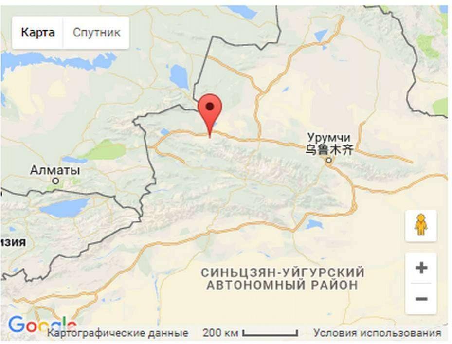 Жители Алматинской и Восточно-Казахстанской области почувствовали отголоски землетрясения, произошедшего в Китае
