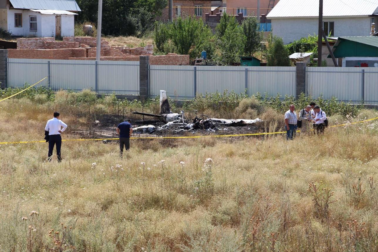 Ведётся расследование авиакатастрофы