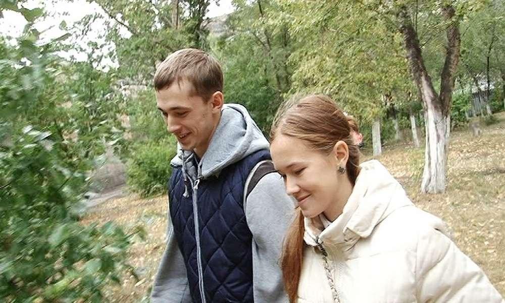 Слава и Яна вместе учились в школе