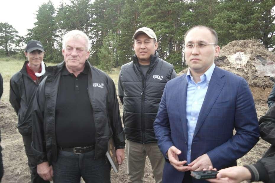 Журналистам рассказали о подготовке к съёмкам трилогии о лошадях в Акмолинской области