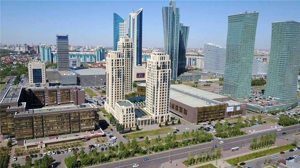 """Вот так, возможно, будет выглядеть новый жилой комплекс рядом с выставочным центром """"Корме"""" в Астане"""
