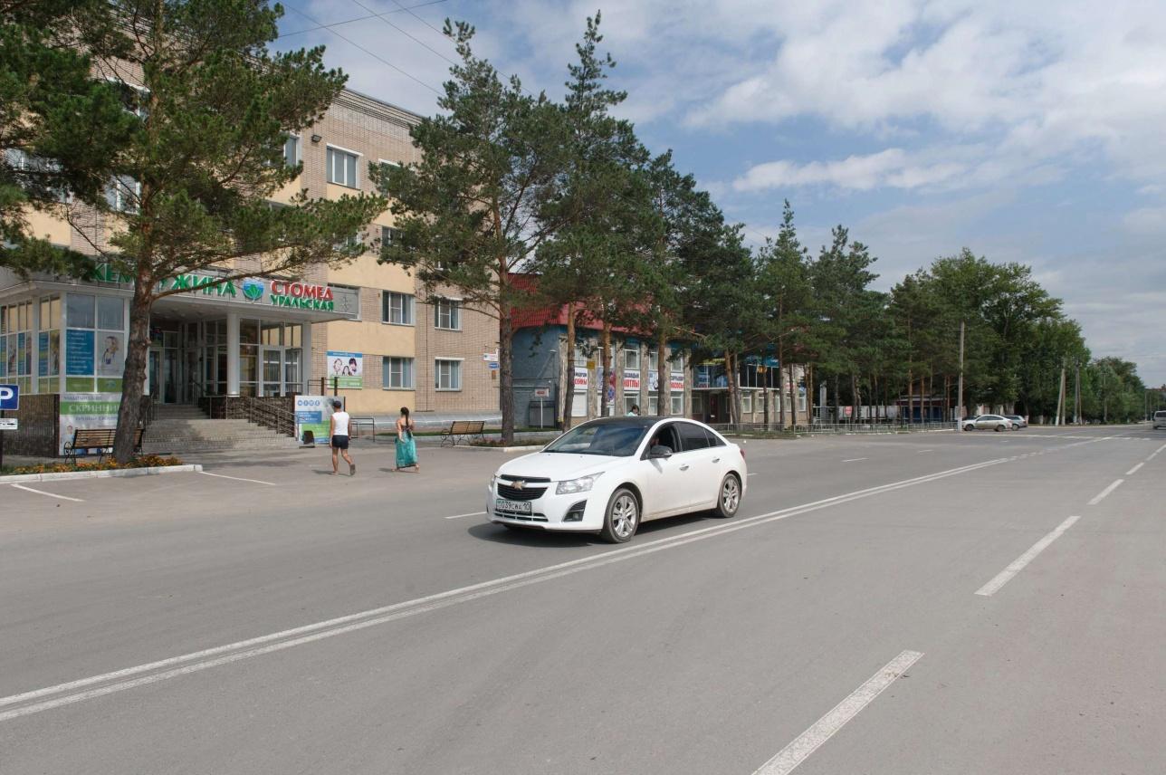 Предприятие Костаная отремонтировало дорогу за свой счёт ко Дню города