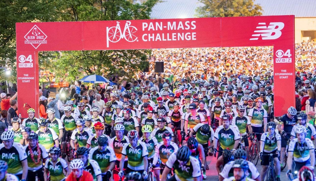 Старт марафона PMC в США