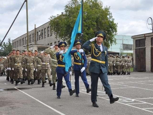В этот день с военной кафедры выпустились 78 студентов