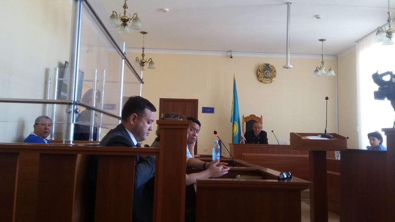 Заседание суда по делу Жампозова