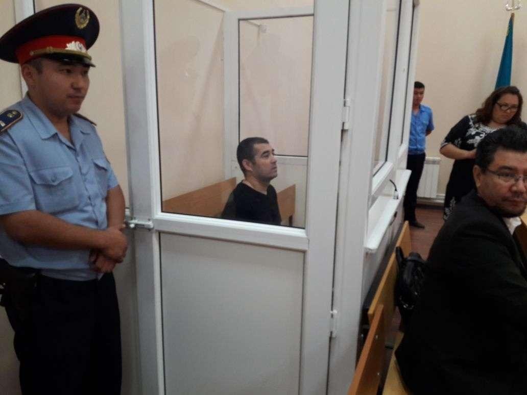 Шейх Халил в зале суда