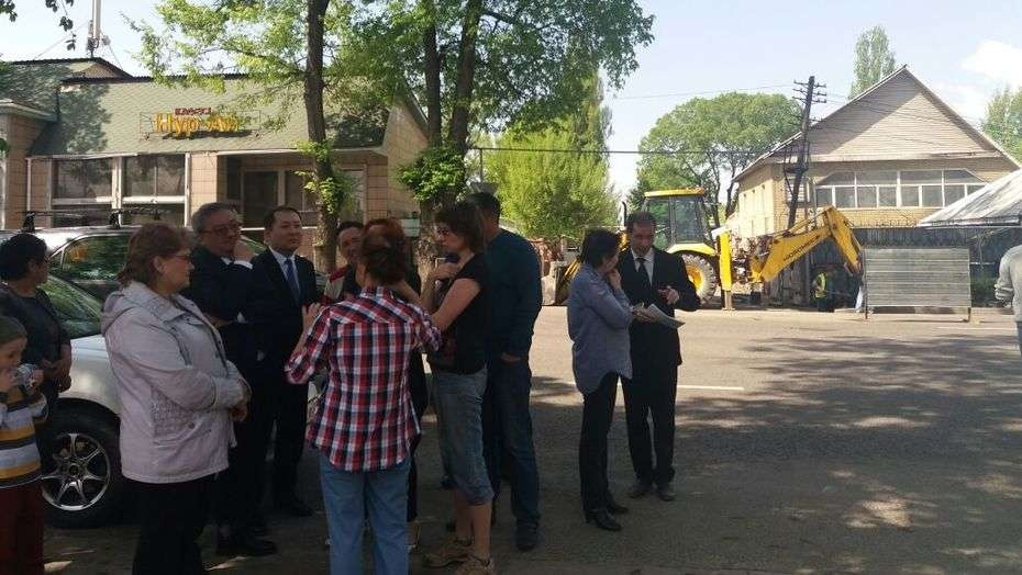 Эти дома в Жетысуском районе Алматы будут сносить