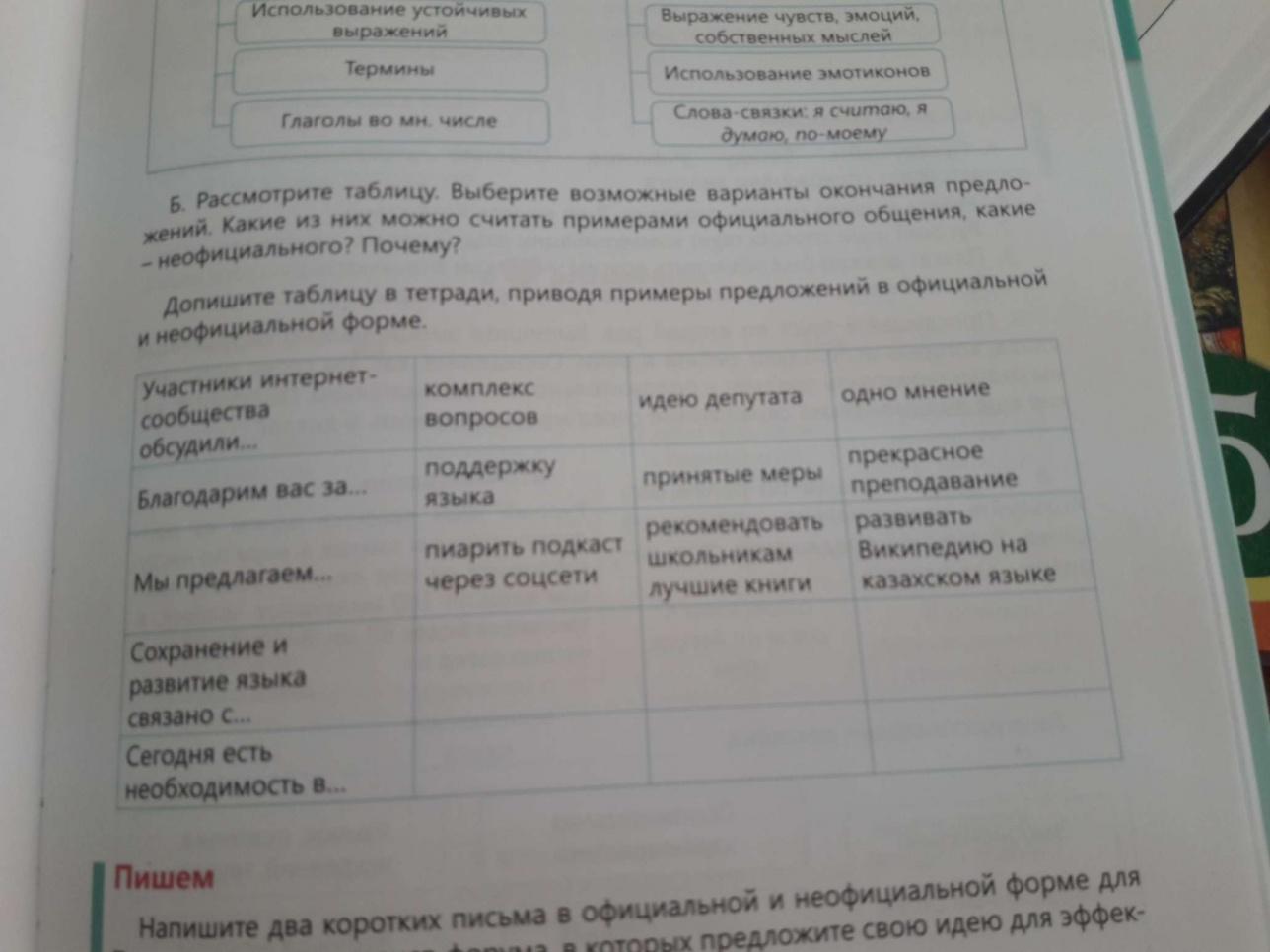 Учебник Русского языка за 5 класс