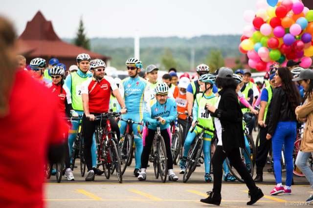 Третий велопробег впервые поднял плану благотворительных сборов свыше 100 млн тенге