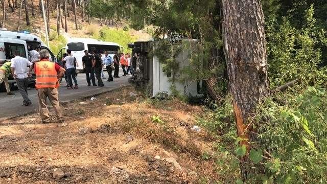 Казахстанец пострадал в ДТП в Турции