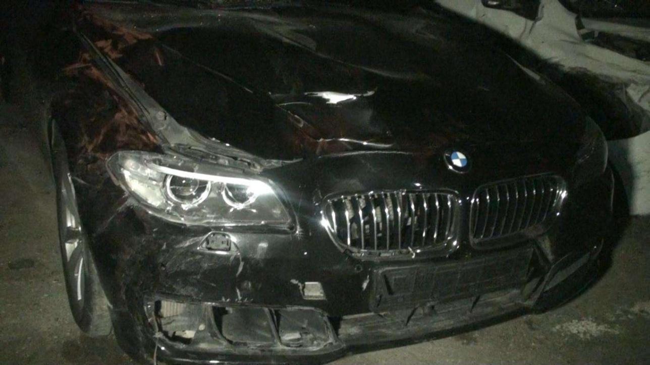 Автомобиль, на котором полицейский сбил людей