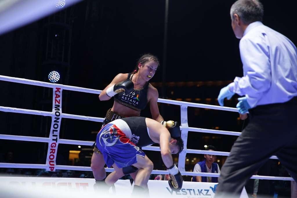 На протяжении всего поединка Фируза Шарипова выглядела лучше своей опытной соперницы