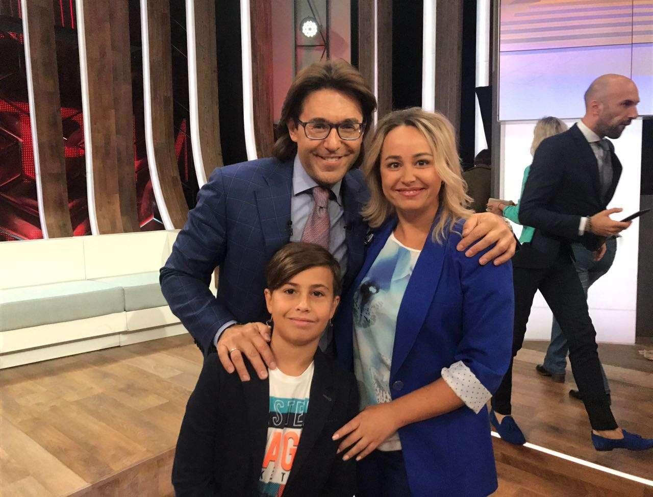 Андрей Малахов и Максим с мамой