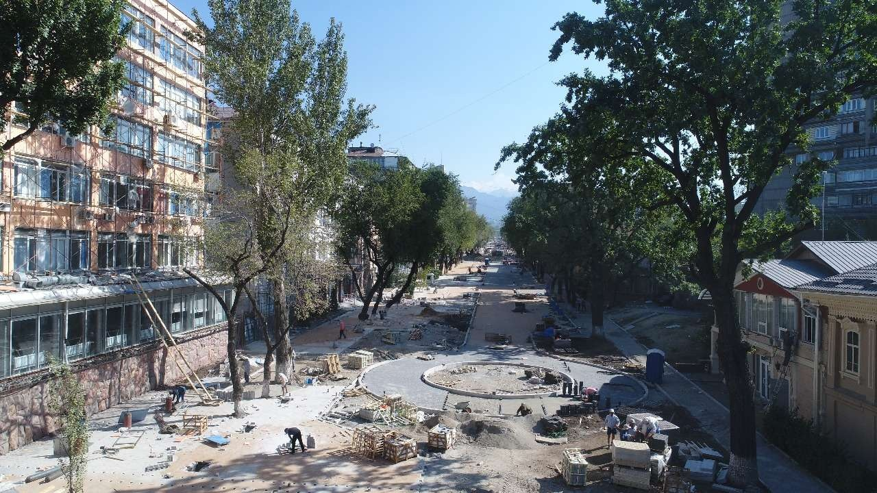Исторические места Алматы реконструируют