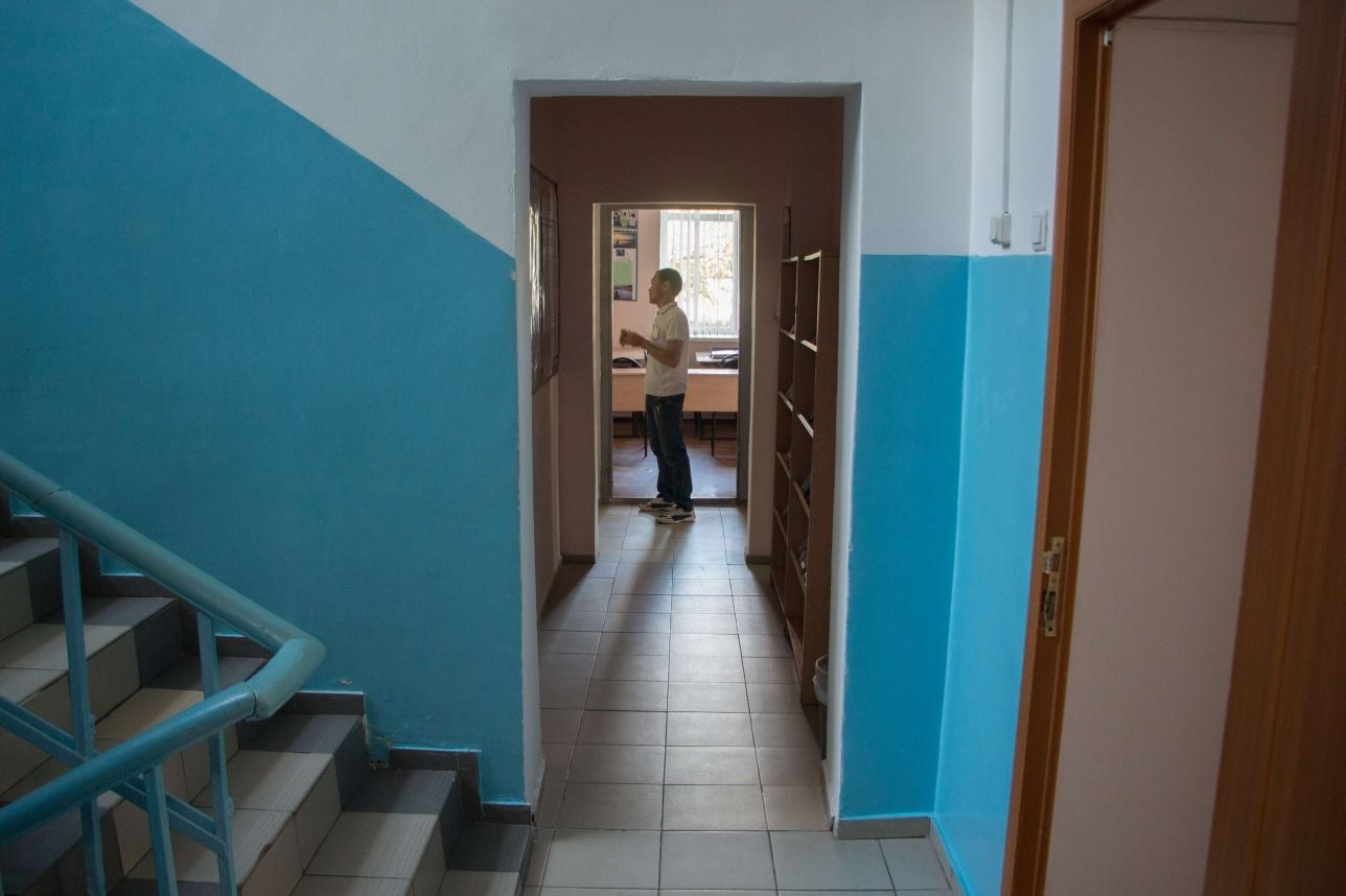 В узких коридорах часто создаются пробки