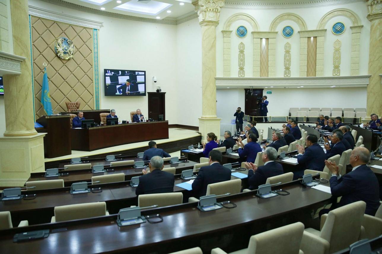 Первое пленарное заседание Сената Парламента РК после каникул