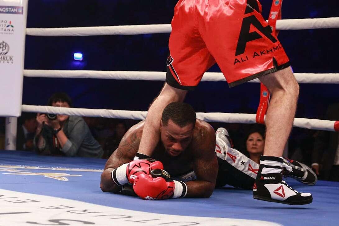 Яркая победа Али Ахметова