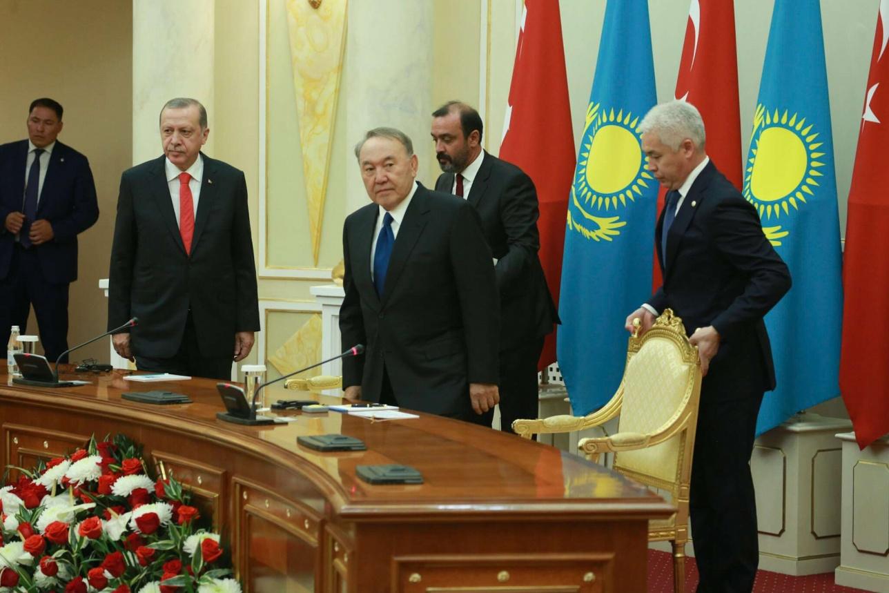 Турция – один самых близких и надёжных политических, экономических партнёров Казахстана – Назарбаев
