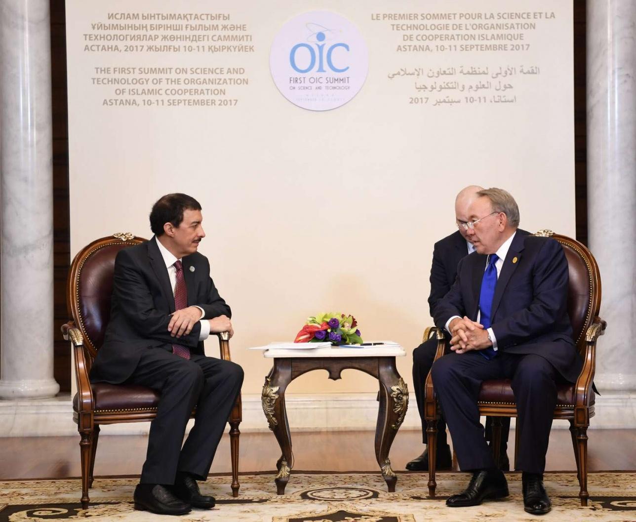 Глава государства встретился с президентом Исламского банка развития