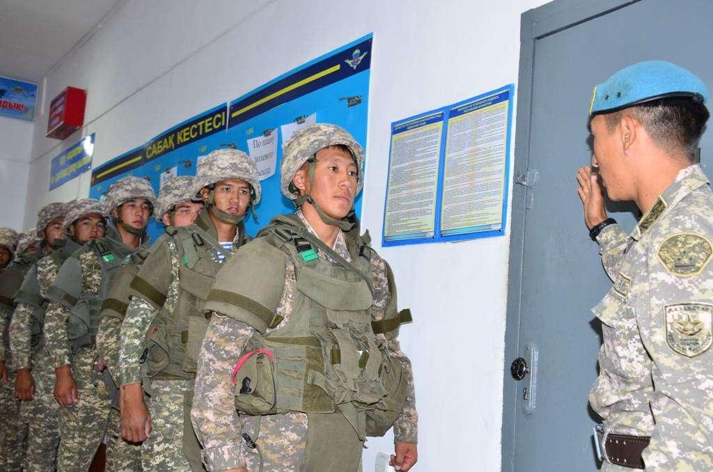 В учениях принимают участие 10 000 военнослужащих РК
