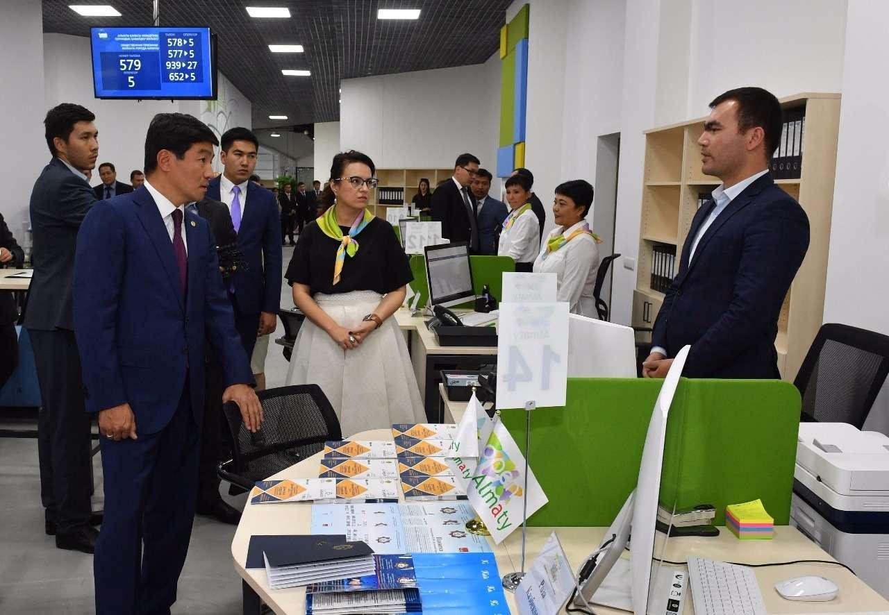 Бауыржан Байбек посетил общественную приёмную Open Almaty