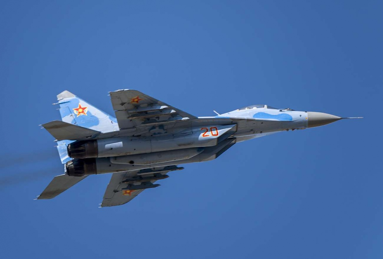 Легкий многоцелевой истребитель МиГ-29