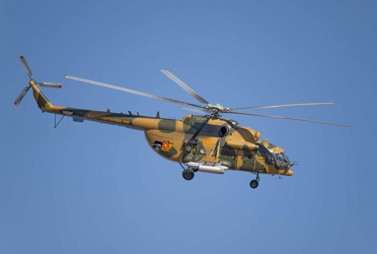 Новейший многоцелевой вертолет Ми-171Ш