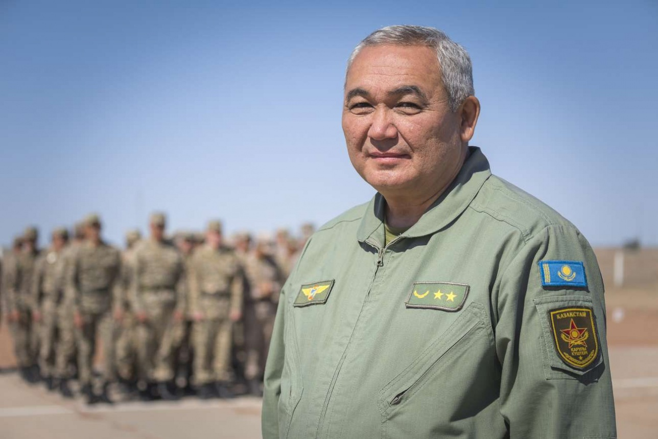 Генерал-лейтенант Нурлан Орманбетов