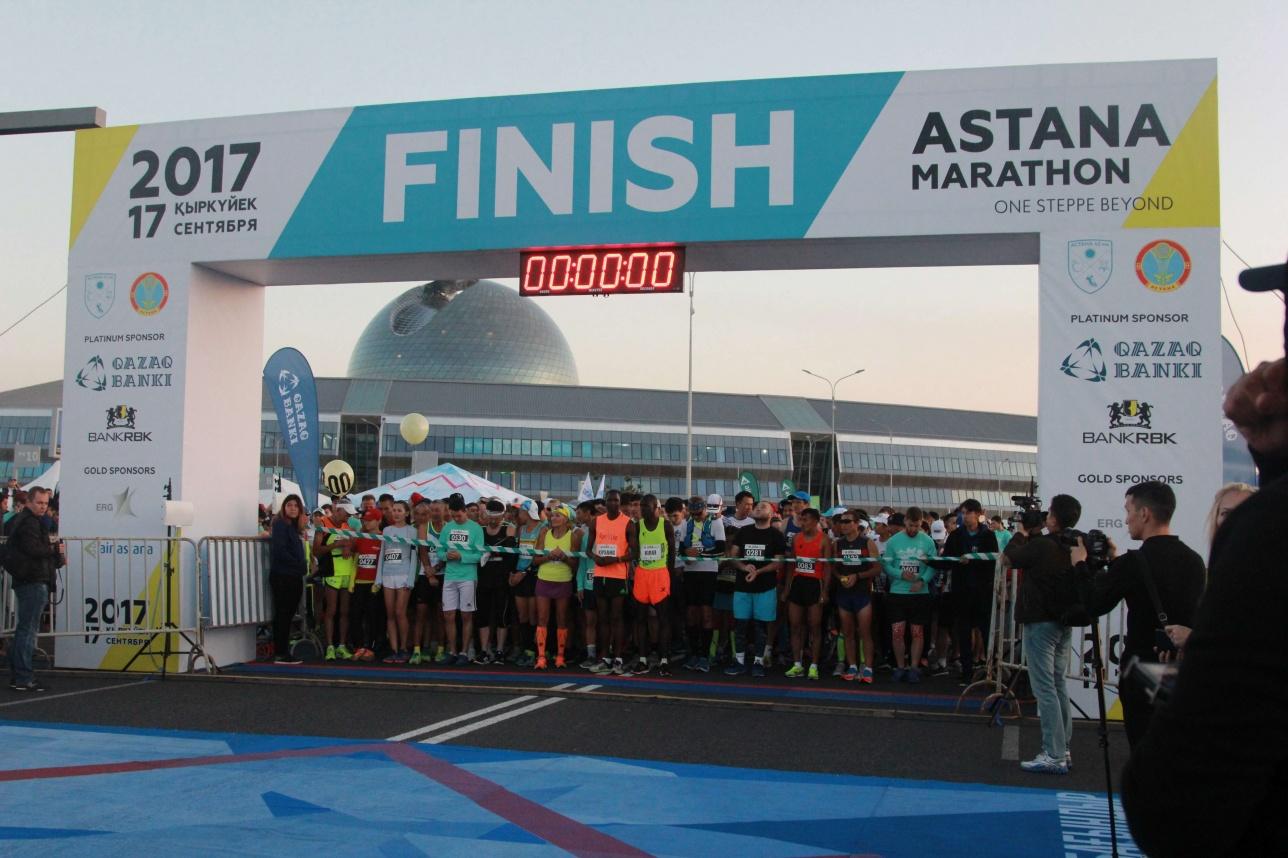 В Астане прошёл ежегодный международный марафон