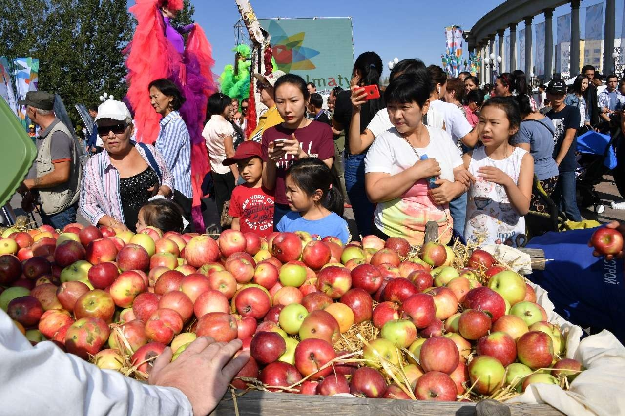 """Ежегодный фестиваль яблок """"AlmaFest – 2017"""" проходит в южной столице"""