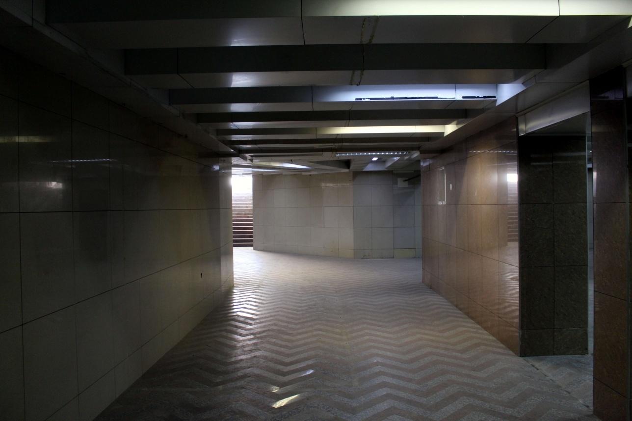 Переход на Абылай хана очистили от хаотичных магазинов
