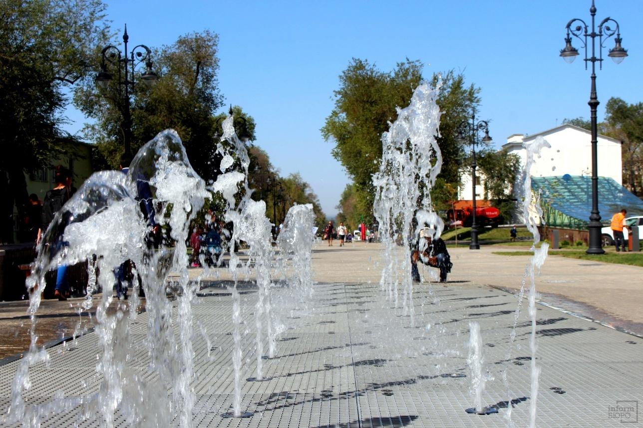 Сухие фонтаны