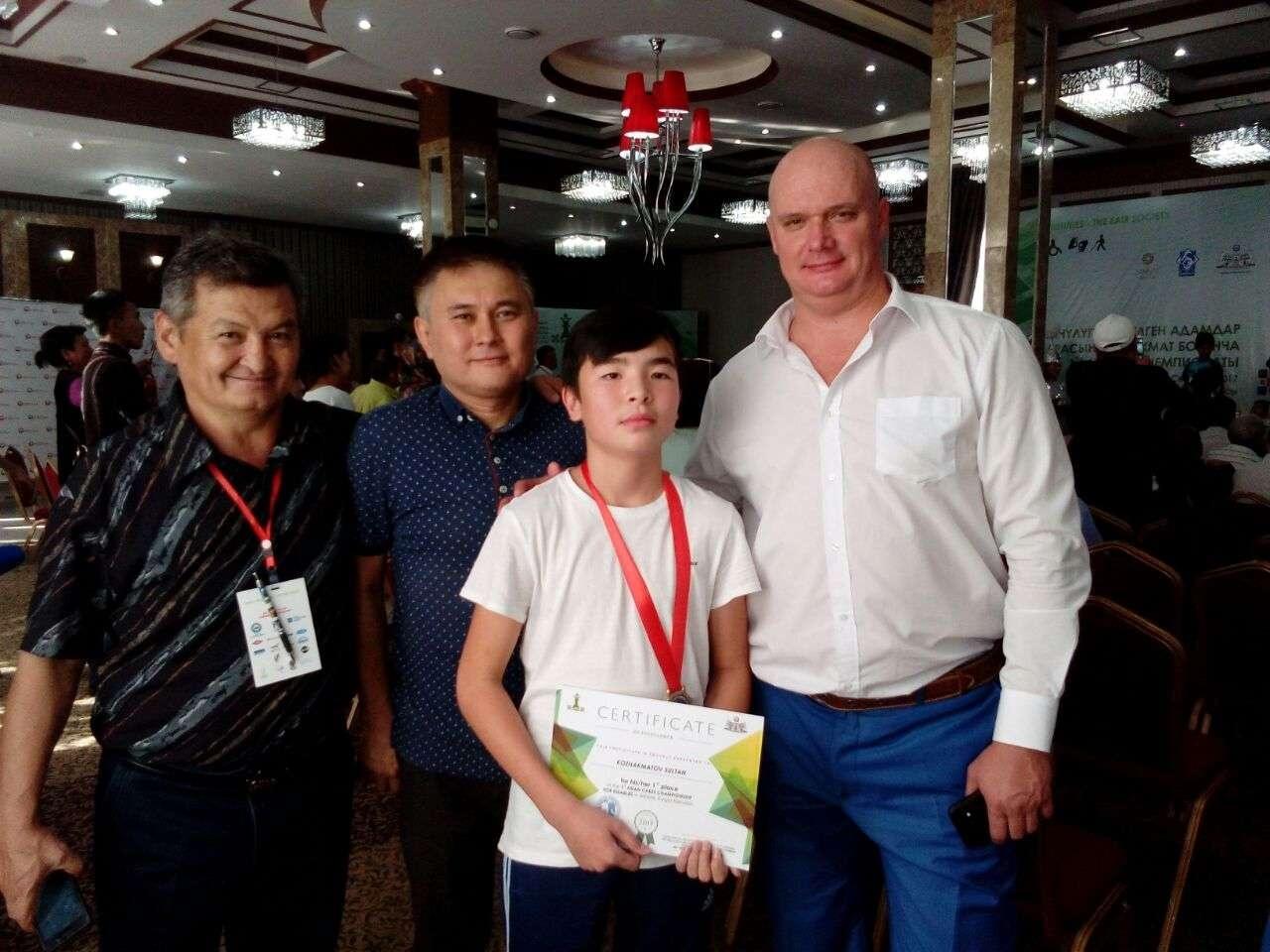Султан Кожахметов стал чемпионом Азии по шахматам