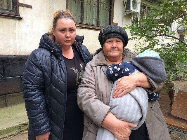 Шынар Уалитова помогла двухлетнему сыну Ольги Трениной