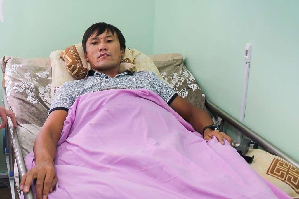 Орынгали провёл в больнице больше месяца