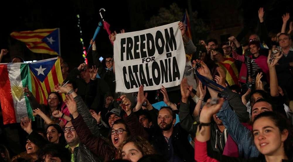 90% избирателей высказались за независимость Каталонии