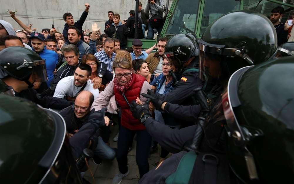 Во время беспорядков задержаны несколько человек