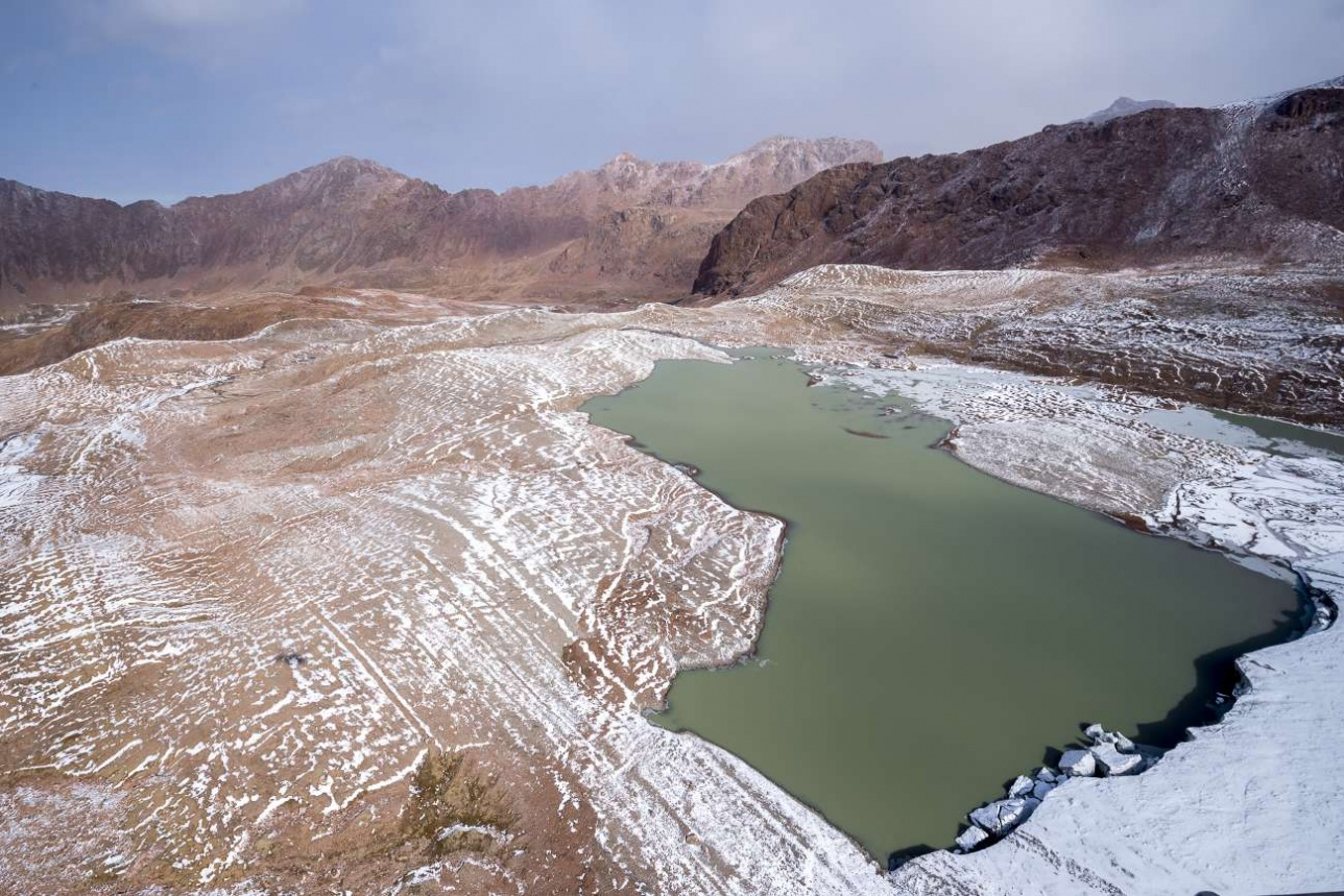 Моренные озера бывают совершенно разные по форме и объему