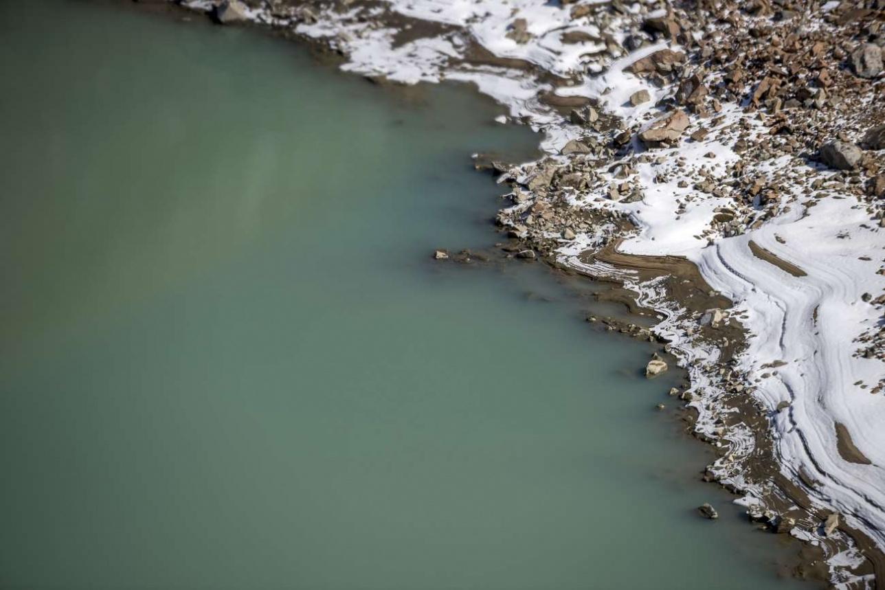Моренные озёра бывают достаточно глубокими