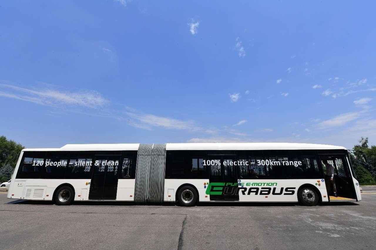 Автобус фирмы Eurabus скоро выйдет на маршрут