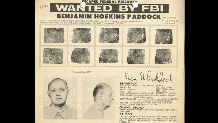 Отец убийцы был известным преступником и разыскивался ФБР