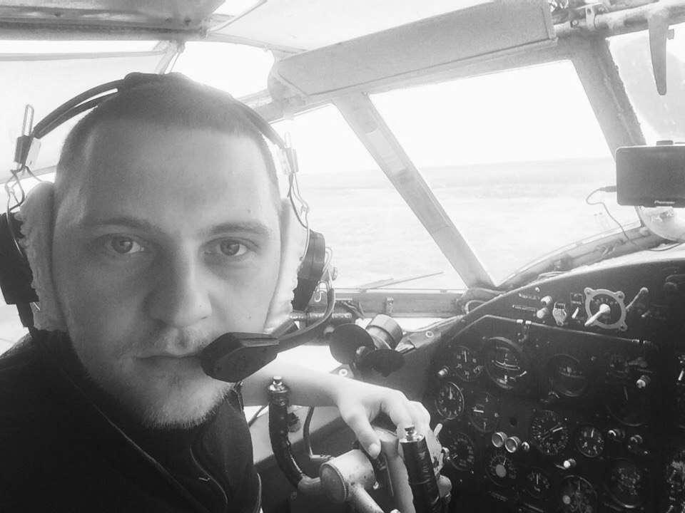 Погибший пилот Евгений Кутафин