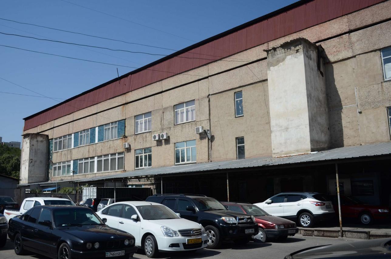 Бывшее здание Казглаваптекоуправления