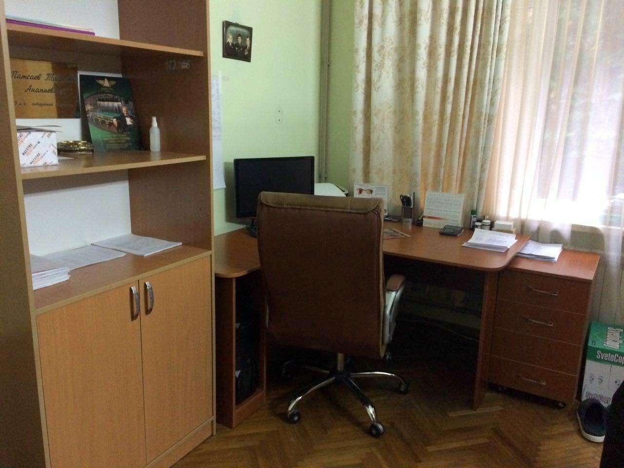 Кабинет, откуда Патсаев вышел вчера в последний раз