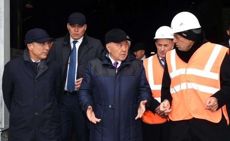 Президент на Актюбинском заводе ферросплавов