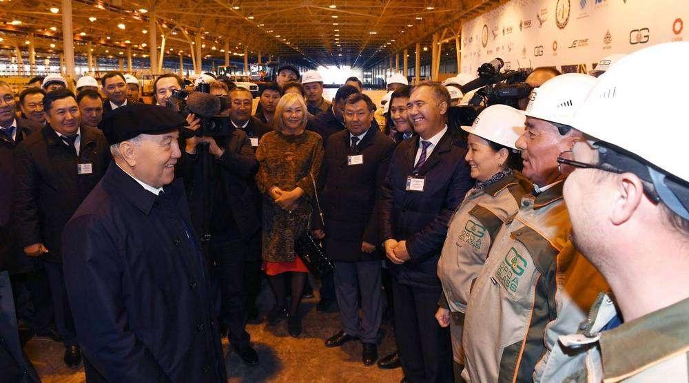 Встреча с работниками промышленных предприятий