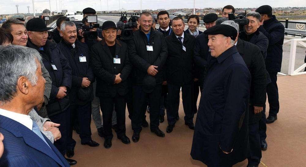 Строительство на левобережье Кызылорды